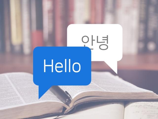 영어 번역