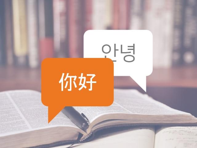 중국어 번역