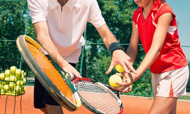 테니스 레슨